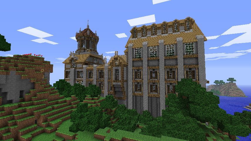 Well Designed Countryside Manor In Minecraft