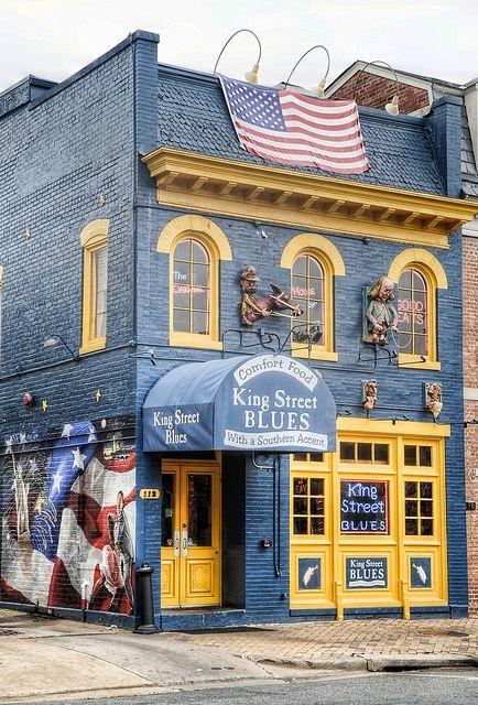King Street Blues Restaurant In Old Town Alexandria Va By Biketripper Bill