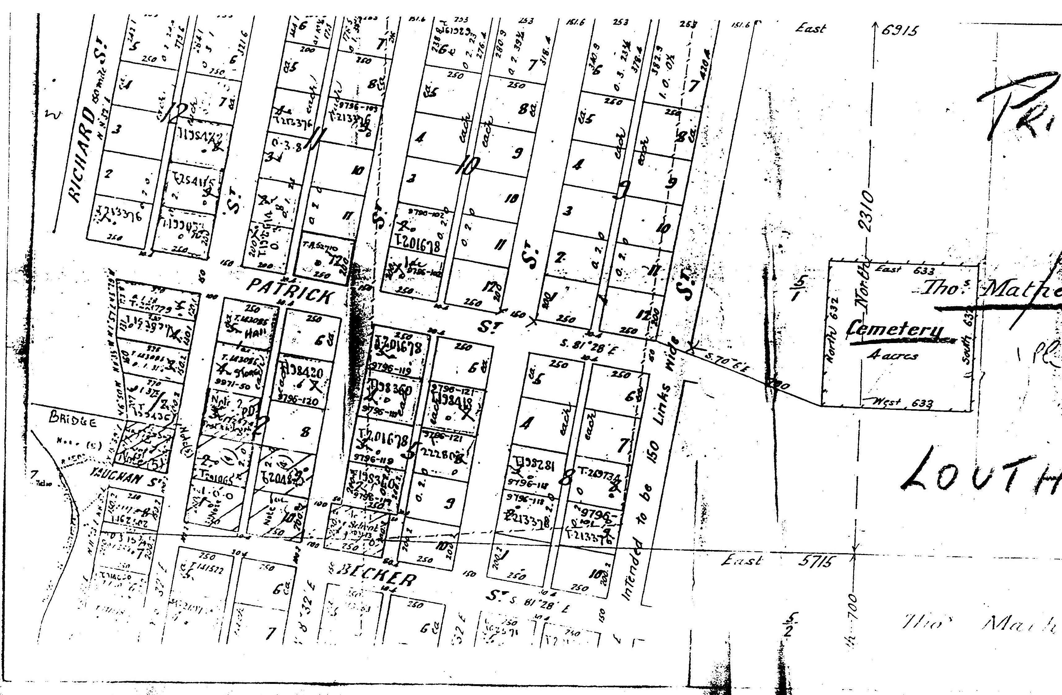 Louth Map Nsw Mathews
