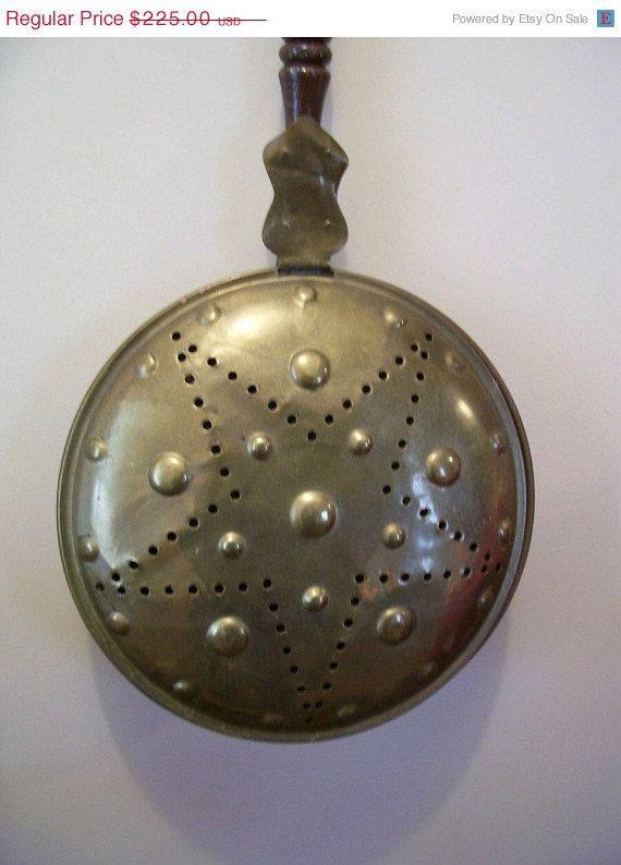 1800 S Primitive Bed Warmer Primitive Antiques Primitive