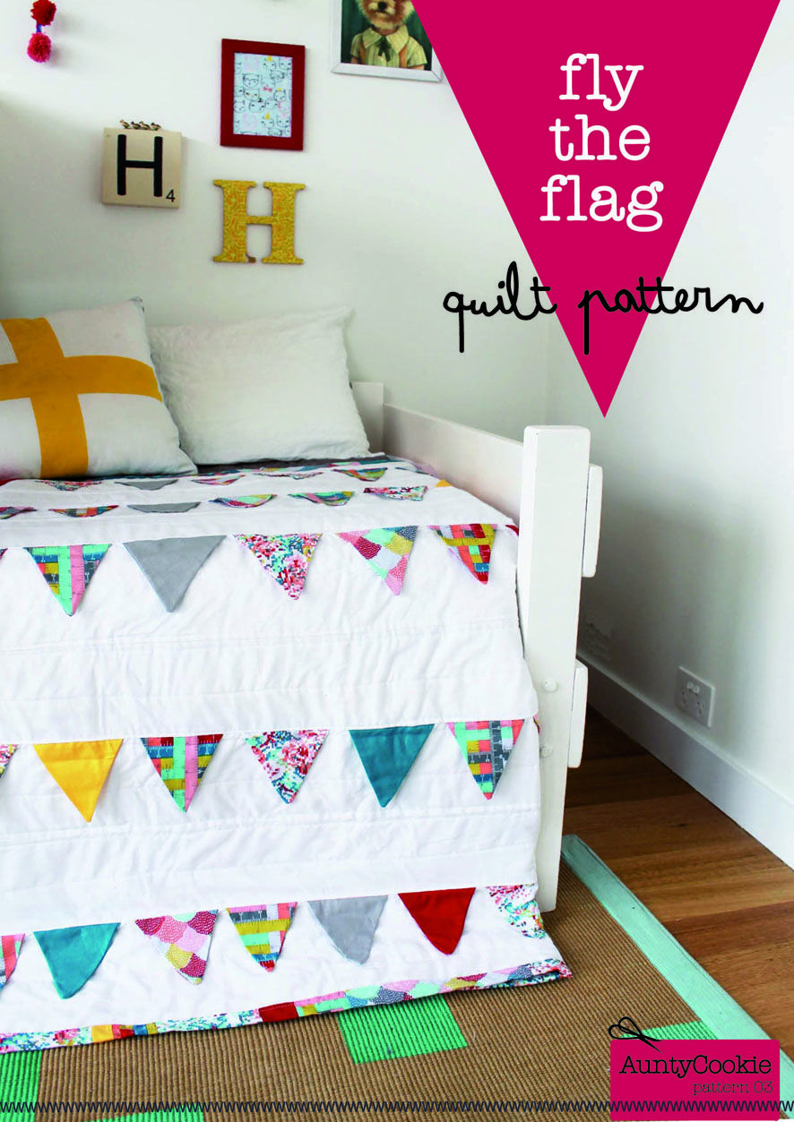 Fly the Flag Quilt Pattern, designed by auntycookie. | Sewing ...