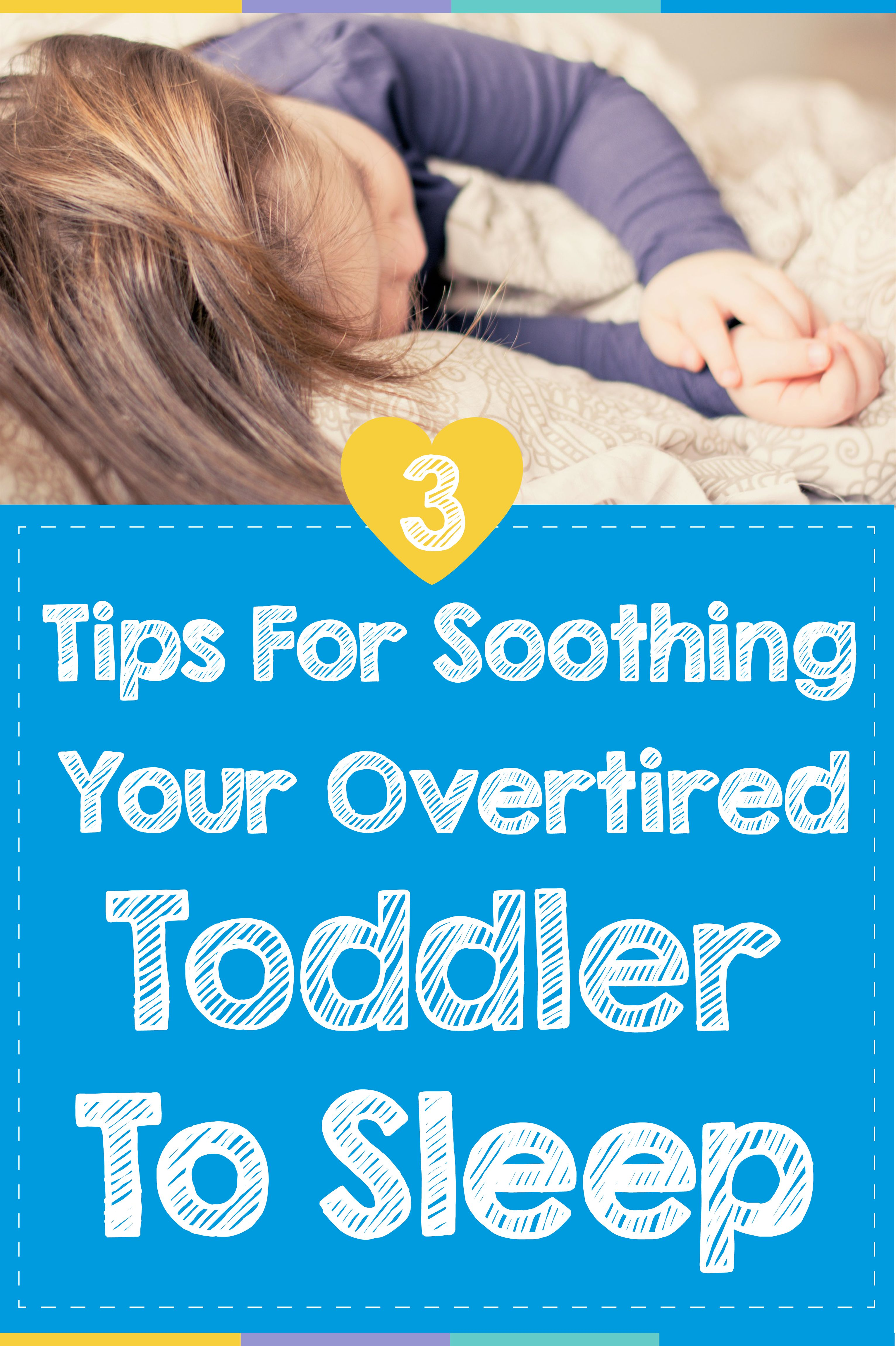 how to get an overtired teething baby to sleep