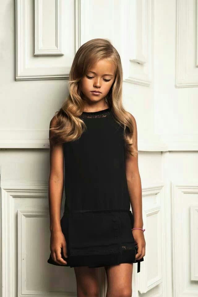 Little Girl Chicher First Lbd Little Black Dress Wear To - Models wearing amazing dresses in the worlds most beautiful locations