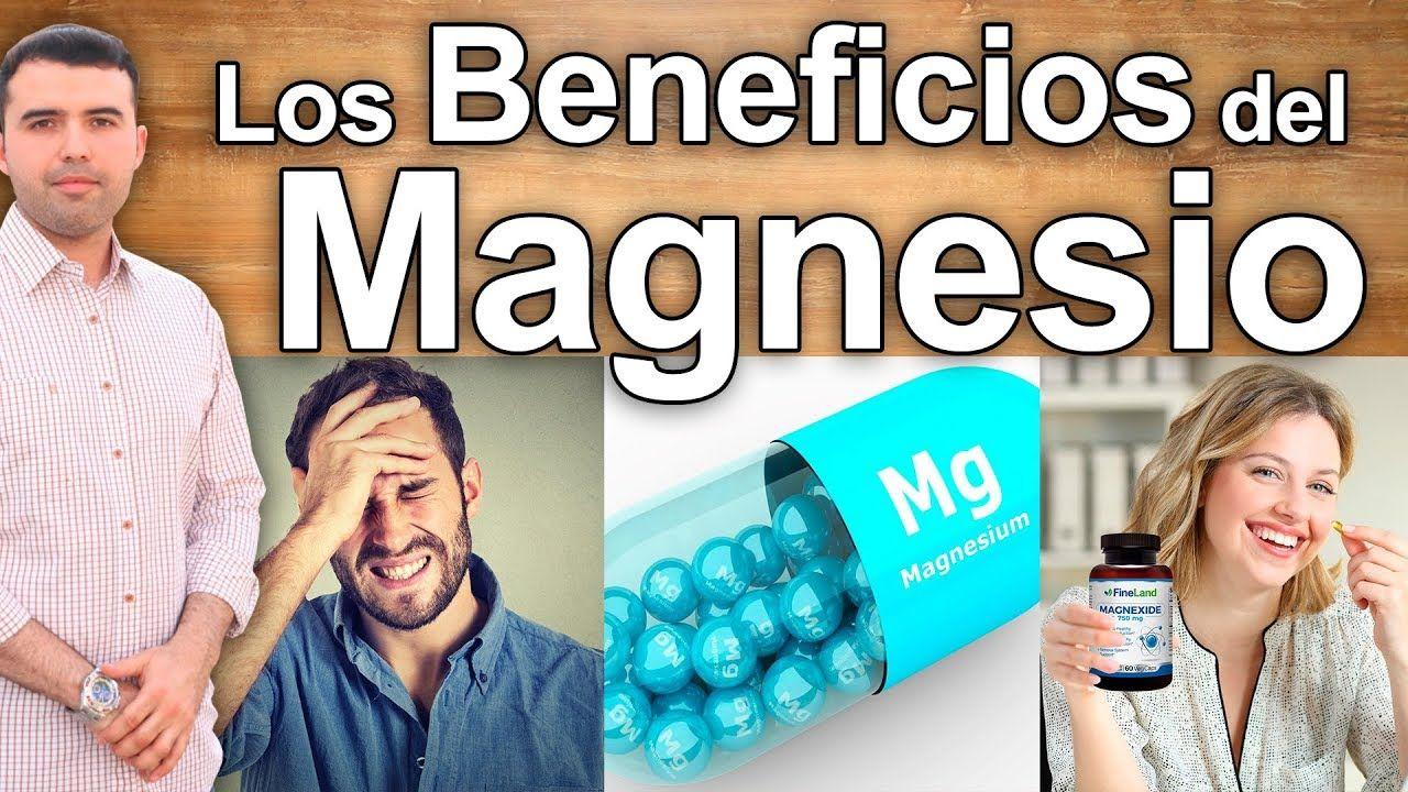 cloruro de magnesio beneficios youtube