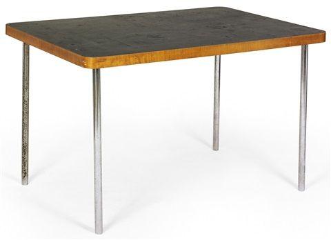 Tisch (Model 91) By Marcel Breuer