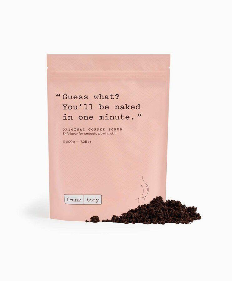 frank body original coffee scrub 7 oz