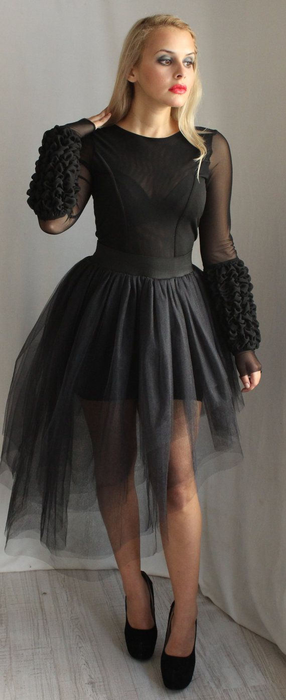 Black and white gothic wedding dresses  Formal Dress For Women Plus Size Wedding Dress Black Dress Goth