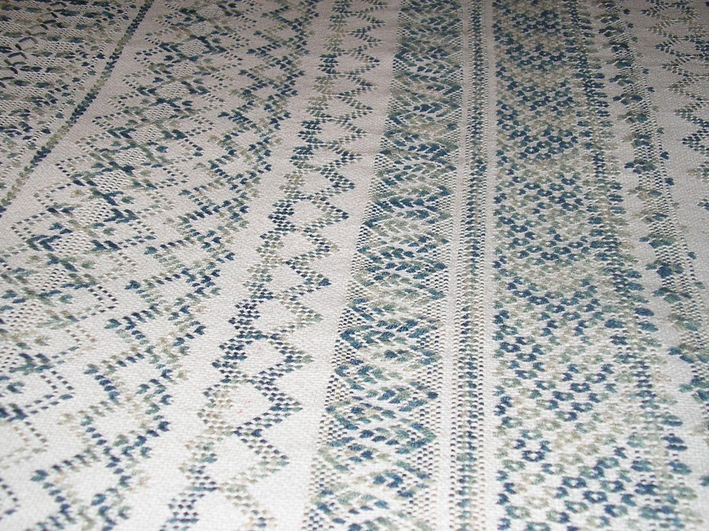 swedish weaving | Gray Swedish Weaving Blanket by NeenersWeaving on ...