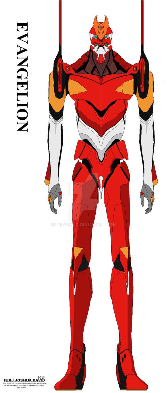 eva unit 02 | Mr.Roboto | Pinterest | Neon genesis evangelion on