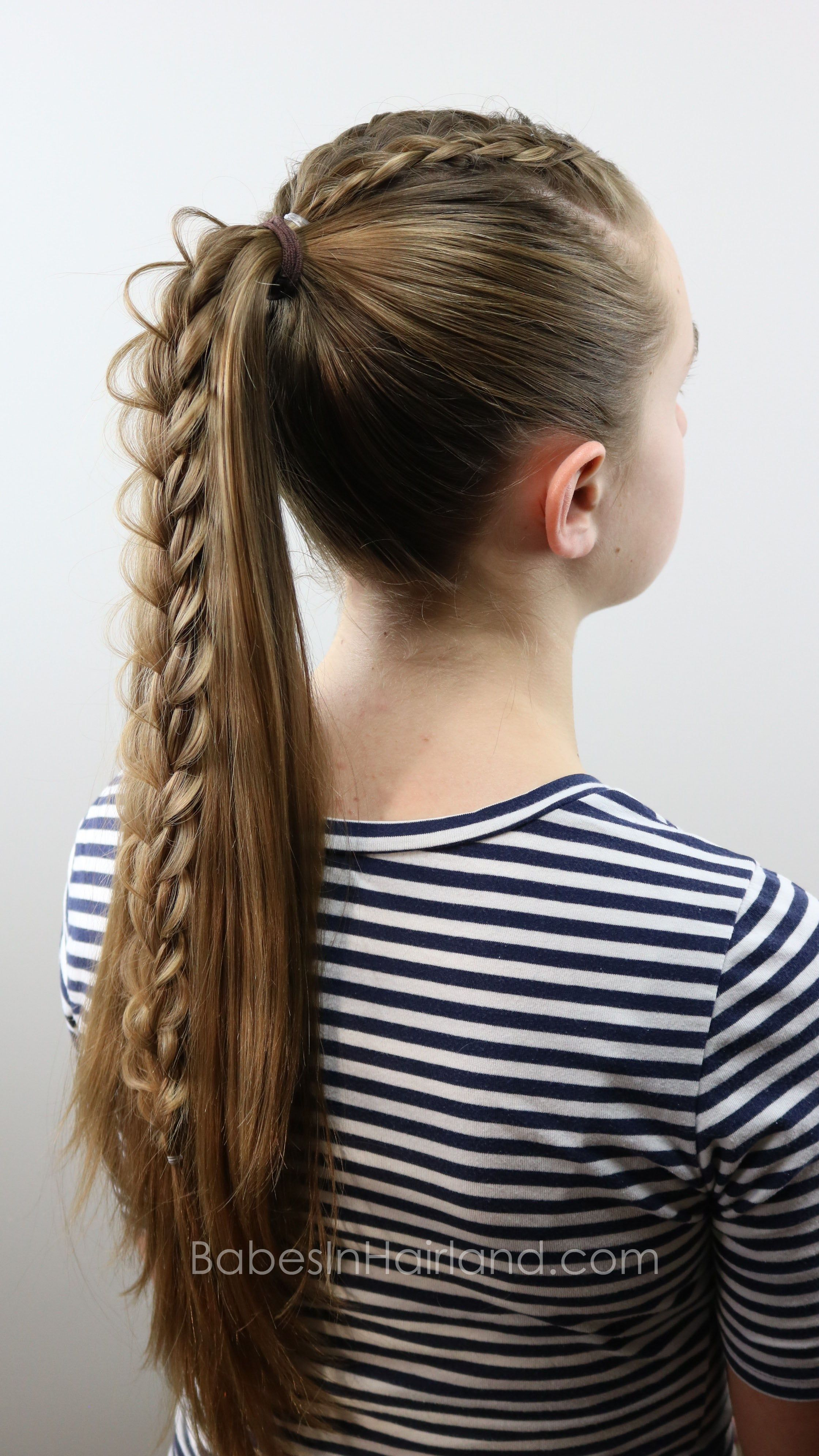 to wear - How to cool create braided hairstyles video