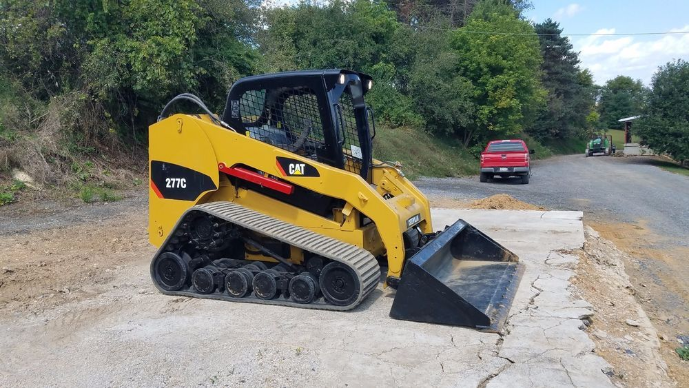 2010 Caterpillar 277C Compact Track Skid Steer Loader