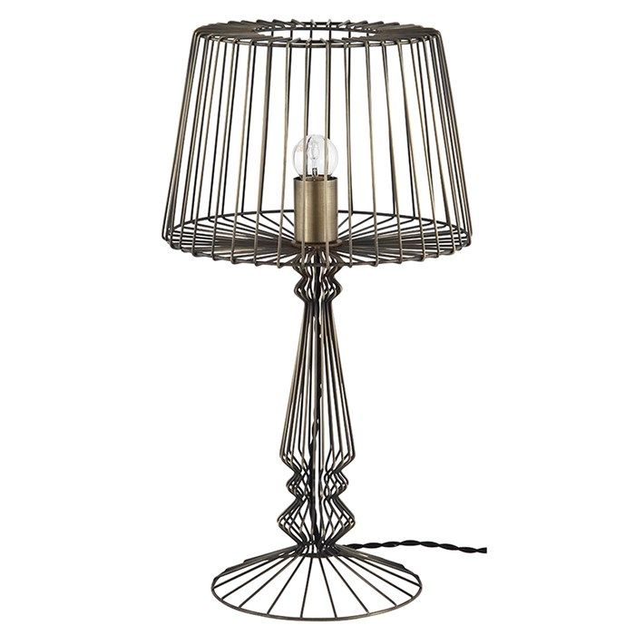 Open wire table lamp home accessories by graham and brown new in open wire table lamp home accessories by graham and brown greentooth Gallery