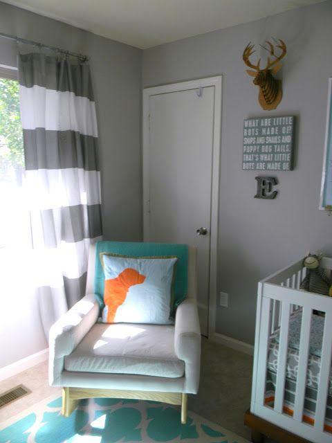 Similar Colour To Silver Marlin By Behr Baby Boy Nursery