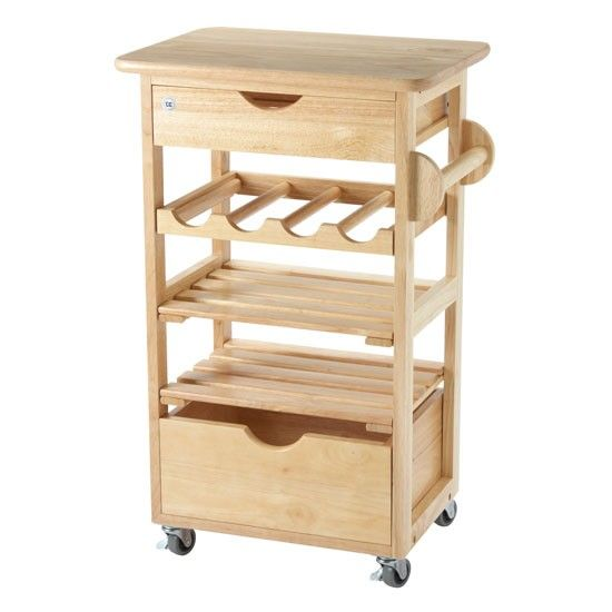 £130 TG compact kitchen trolley from Sainsbury's Trolley Size: 540 x 380 x 845mm high Also available from Wayfair