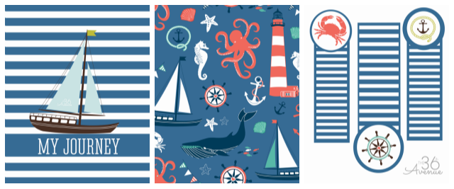 17 Best images about Nautical Printables on Pinterest | Sea shells ...
