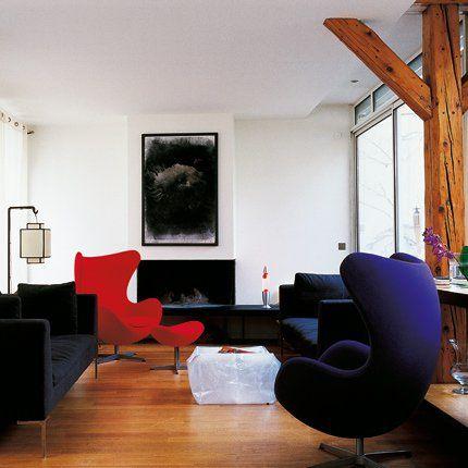 Une Maison Dans Un Entrepot En Plein Paris Salle A Manger Contemporaine Meuble Salle A Manger Marie Claire Maison