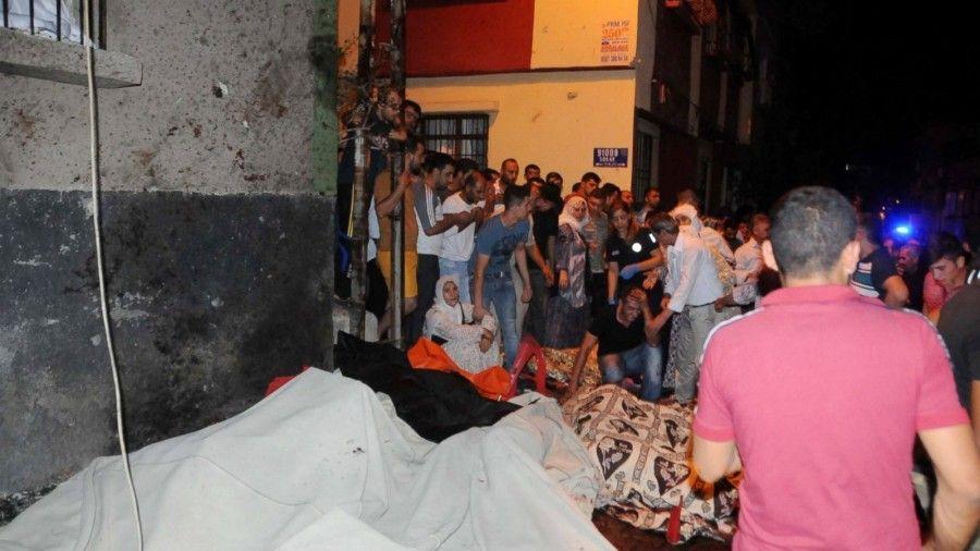 Turca Bagno ~ Turchia bagno di sangue al matrimonio per una bomba almeno