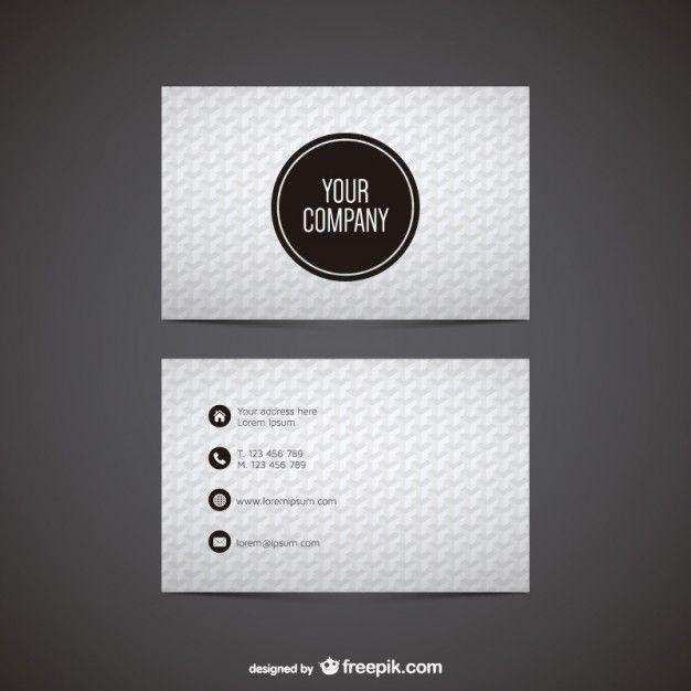 Vector Graphics Visiting Card