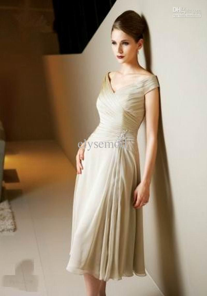 Mother wedding dresses petite  grey petite plus size mother of the bride dress   Beaded