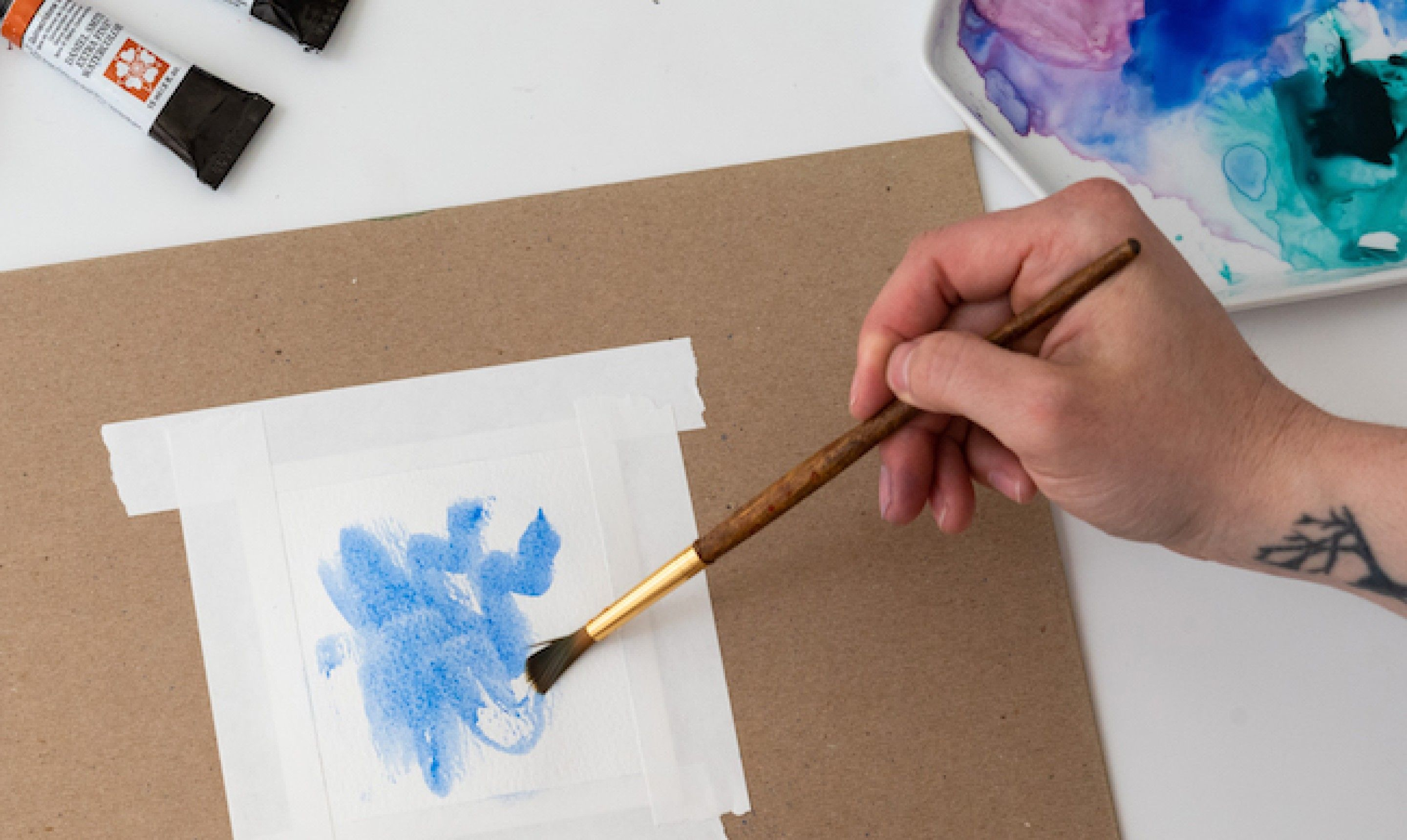 16 Watercolor Techniques You Have To Try Watercolor Painting