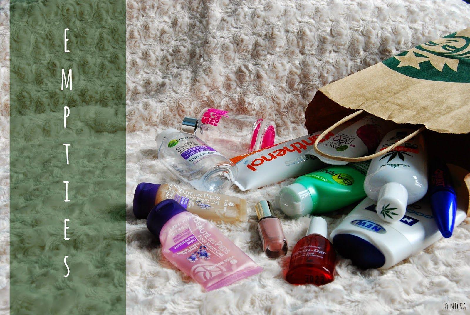 Nicka The Beauty Hunter: Spotrebované produkty