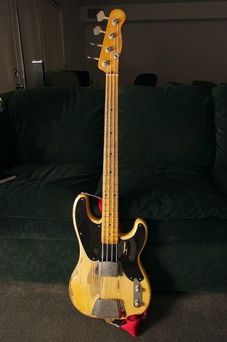 My 1954 Precision Bass Fender Bass Telecaster Bass Fender P Bass