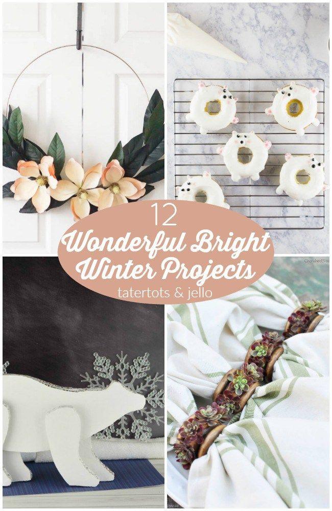 Great Ideas -- 12 Wonderful Bright Winter Projects!