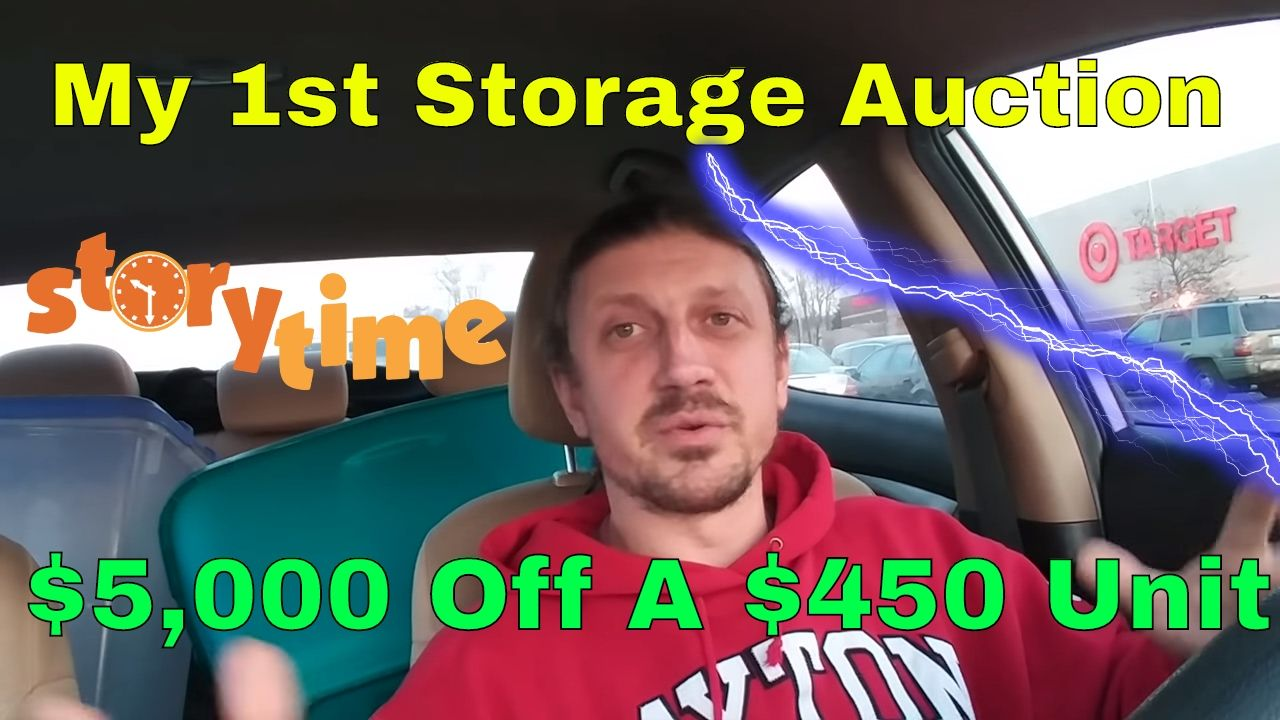 Storage Auctions Can Be Great For New Ebay Sellers My First Storage Au With Images Storage Auctions Greatful Auction
