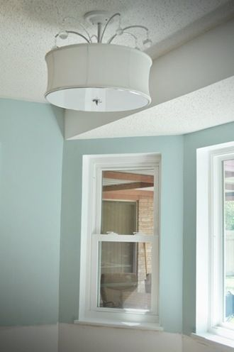 Love the wall color - Dusty Aqua by Valspar bathroom ideas - farbe für badezimmer