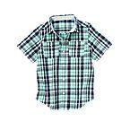 Button Pocket Plaid Shirt