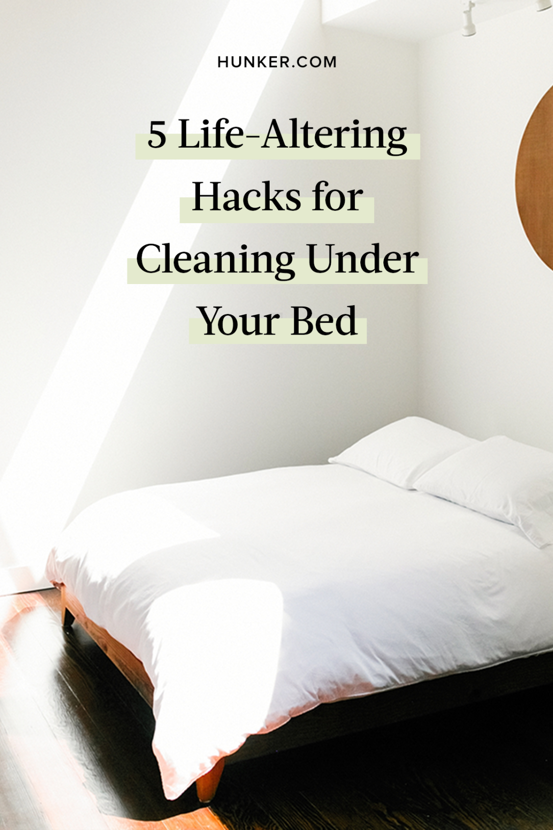 5 Life Altering Hacks For Cleaning Under Your Bed Hunker How To Clean Carpet Bed Clean Bedroom