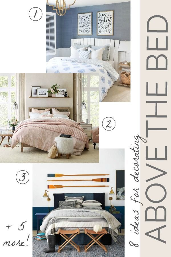 Best Above Bed Decor Eight Ideas For Decorating That Awkward 640 x 480