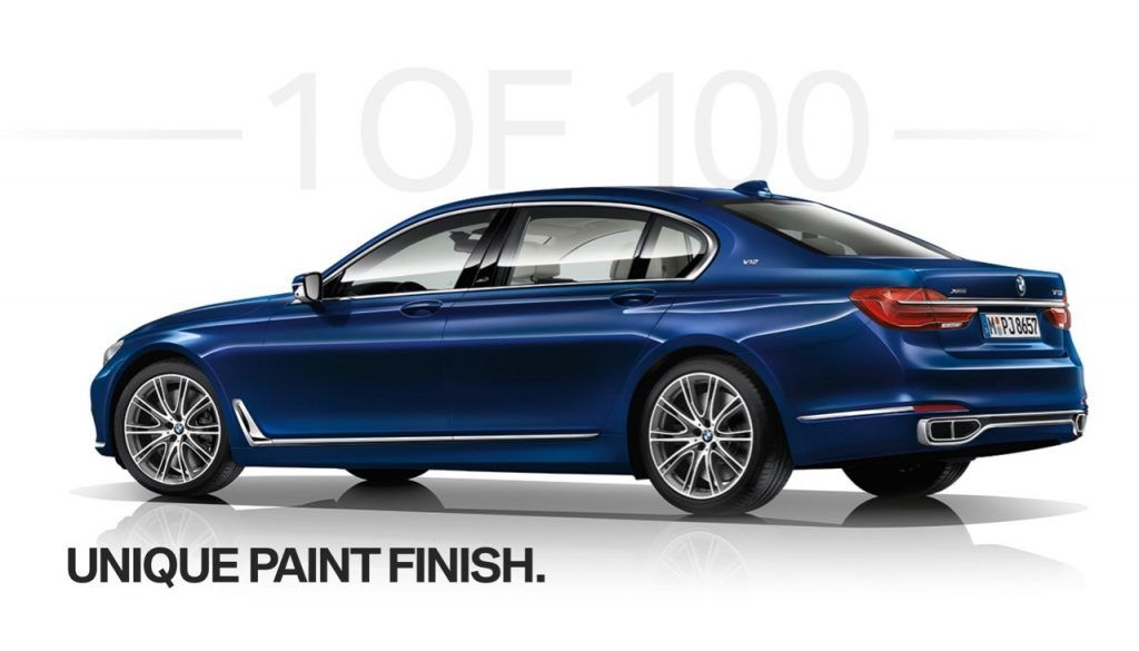 Limited Edition V12 Powered Bmw Individual M760li Coming To India Bmw Bmw India Amazing Cars