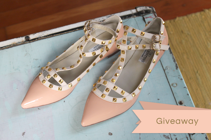 Giveaway!  On the Moorea Seal blog:  www.moorea-seal.com visit the blog to enter to win these pretty shoes :)