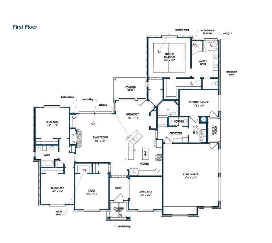 PERFECT Floorplan Tilson Homes Hidden Meadow 3114 If