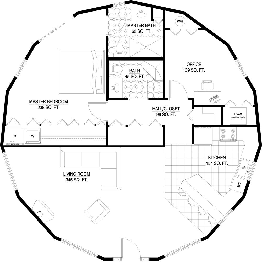Floorplan Gallery Round Floorplans Custom Floorplans Floor Plans Architectural Floor Plans Tiny House Floor Plans