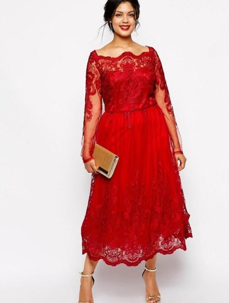 Pin by Darla Harris on clothes | Plus size red dress, Classy prom ...