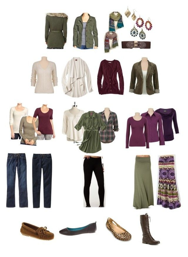 Stay-At-Home Mom Fall/Winter Capsule Wardrobe