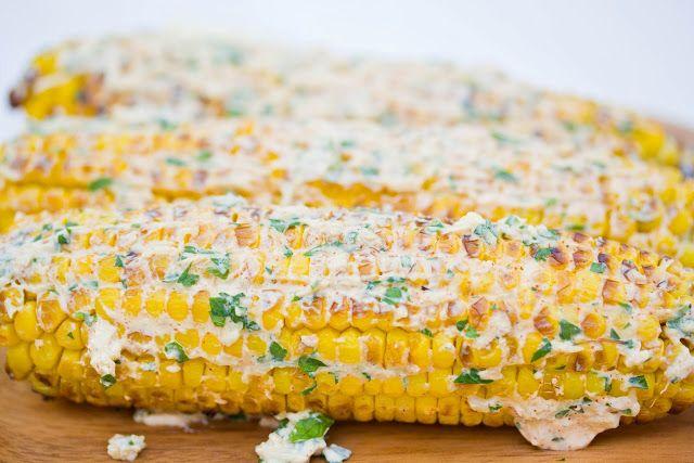 Roasted Corn on the Cob - A Zesty Bite