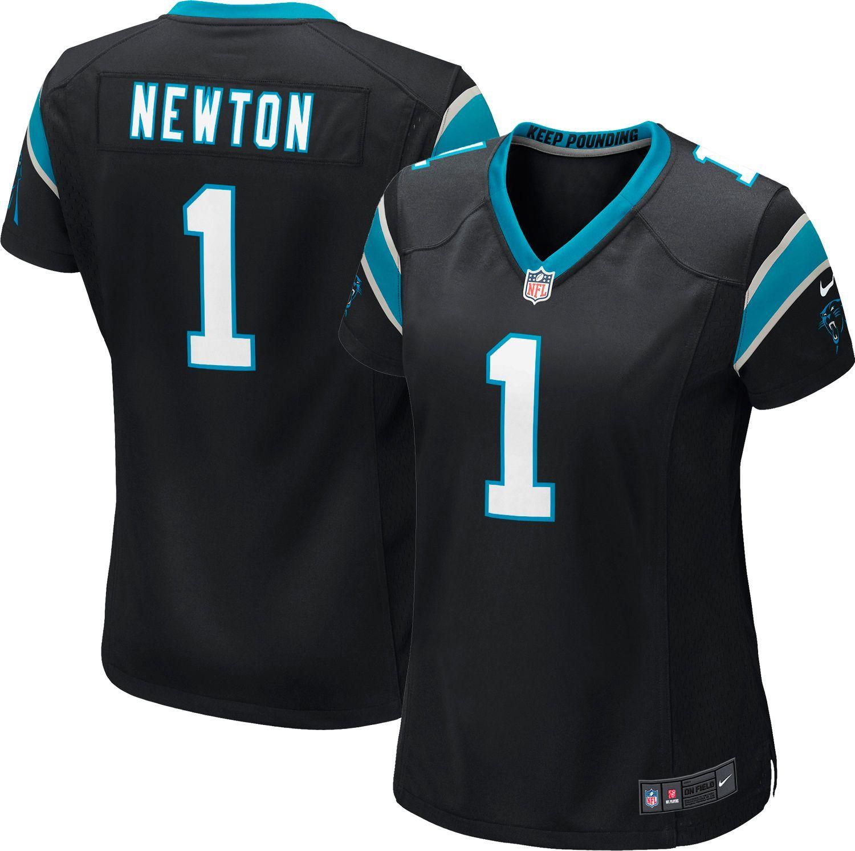 eef925f0d3 Nike Women s Home Game Jersey Carolina Panthers Cam Newton  1 ...
