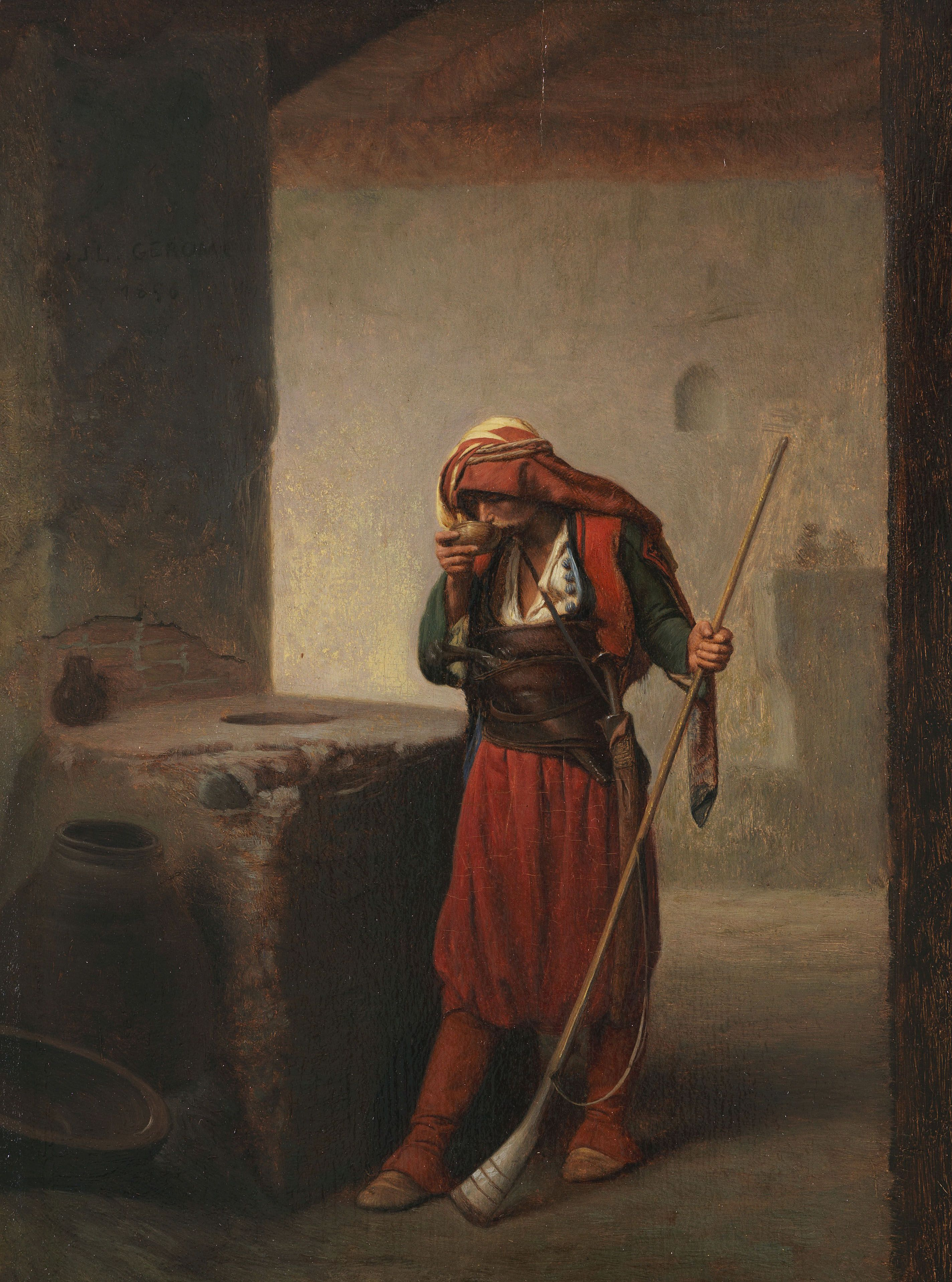 Jean Leon Gerome 1824 1904 Orientalische Bilder Kunstproduktion Kunst Gemälde