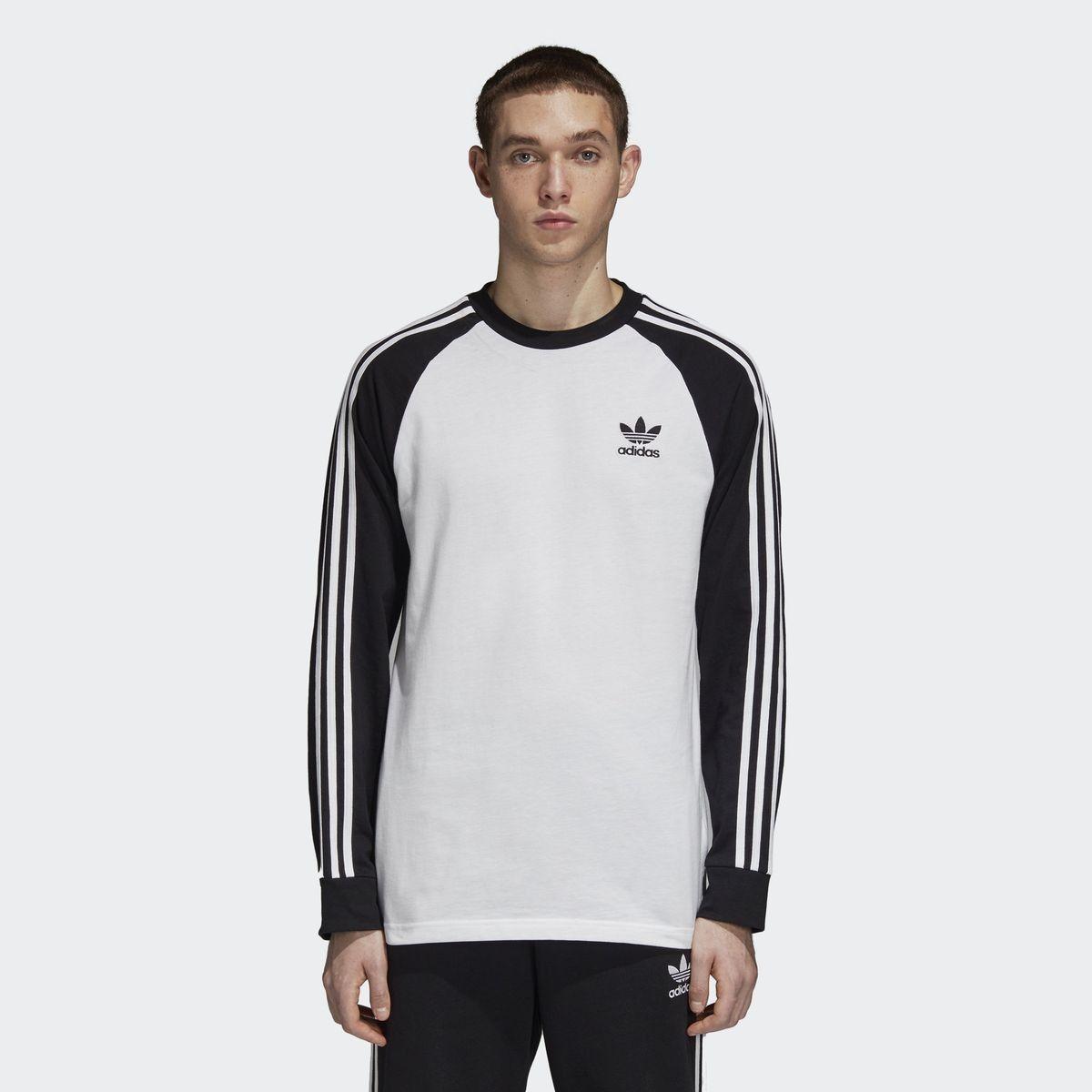 tee shirt manche longue adidas