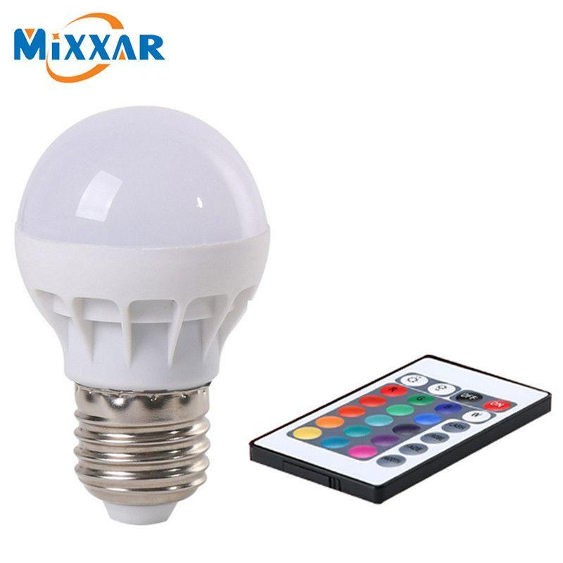 Zk50 Led Rgb Bulb Lamp Ac85 265v E27 5w Led Rgb Spot Blubs Stage