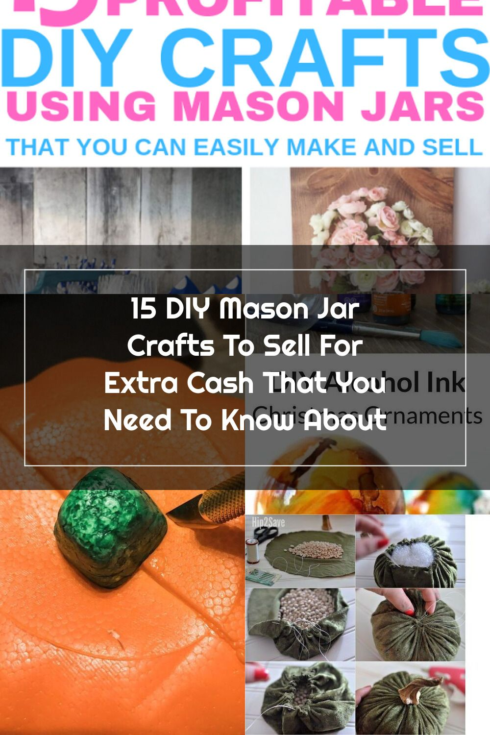 15 Diy Mason Jar Crafts To Sell For Extra Money Creative And Unique Easy Diy Crafts You Can Make Using Dollar