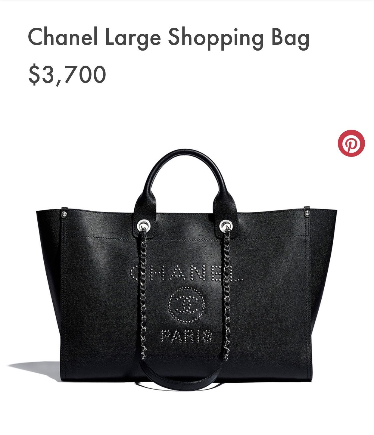 178cceb09 CHANEL - MAXI SHOPPING BAG