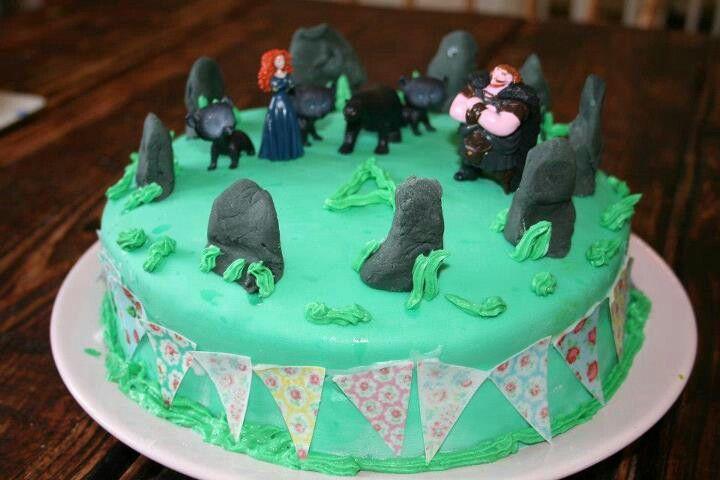 Brave home-made cake