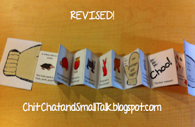 Chit Chat and Small Talk: Right to Left, Left to Right? Mitten Story Revision