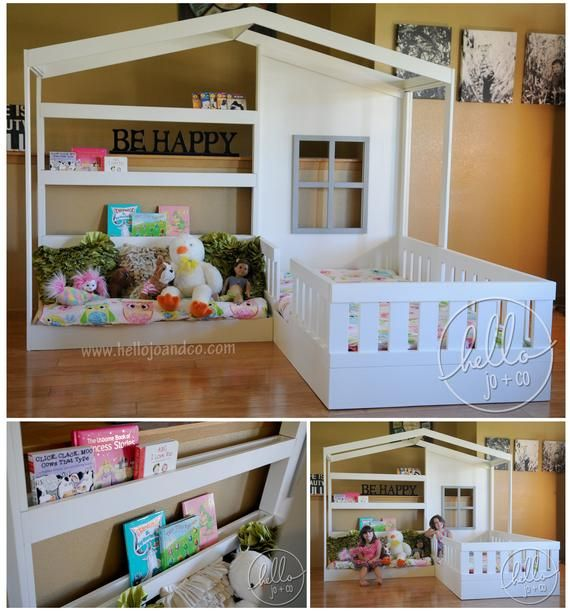 Massivholz Lesen Nook Bett Lesen ecken, Kinderzimmer