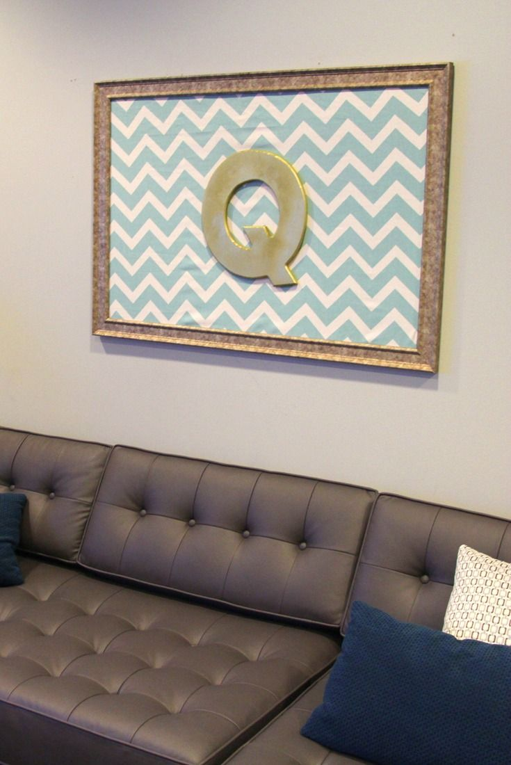 A little DIY decor project for backstage at The Queen Latifah Show! Gold  frame,