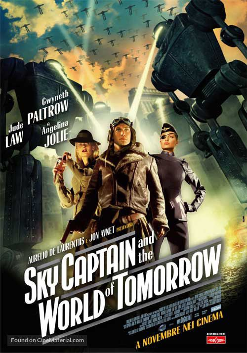 Sky Captain And The World Of Tomorrow (2004). Ode to retro-future.